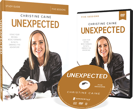 Unexpected DVD and Study Guide Pack by Christine Caine