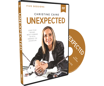 Unexpected Video Study DVD by Christine Caine
