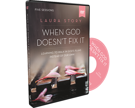 When God Doesn't Fix It Video Study DVD by Laura Story