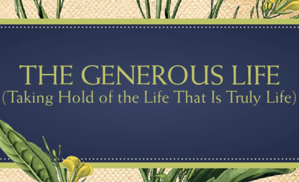 Divine Generosity: Empowering Us to Breathe Deeply and Live Courageously