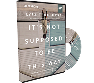 It's Not Supposed to Be This Way Video Study DVD by Lysa TerKeurst