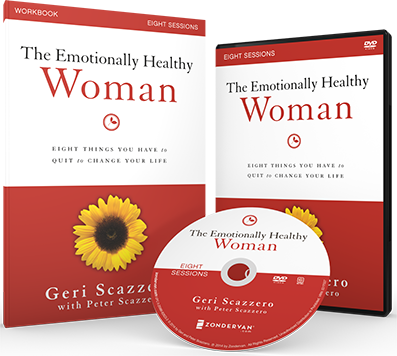 The Emotionally Healthy Woman DVD and Study Guide by Geri and Peter Scazzero