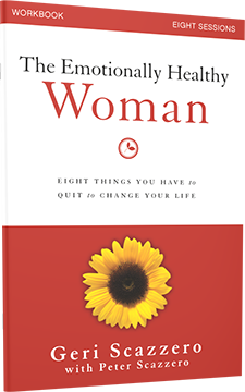 The Emotionally Healthy Woman Workbook by Geri and Peter Scazzero