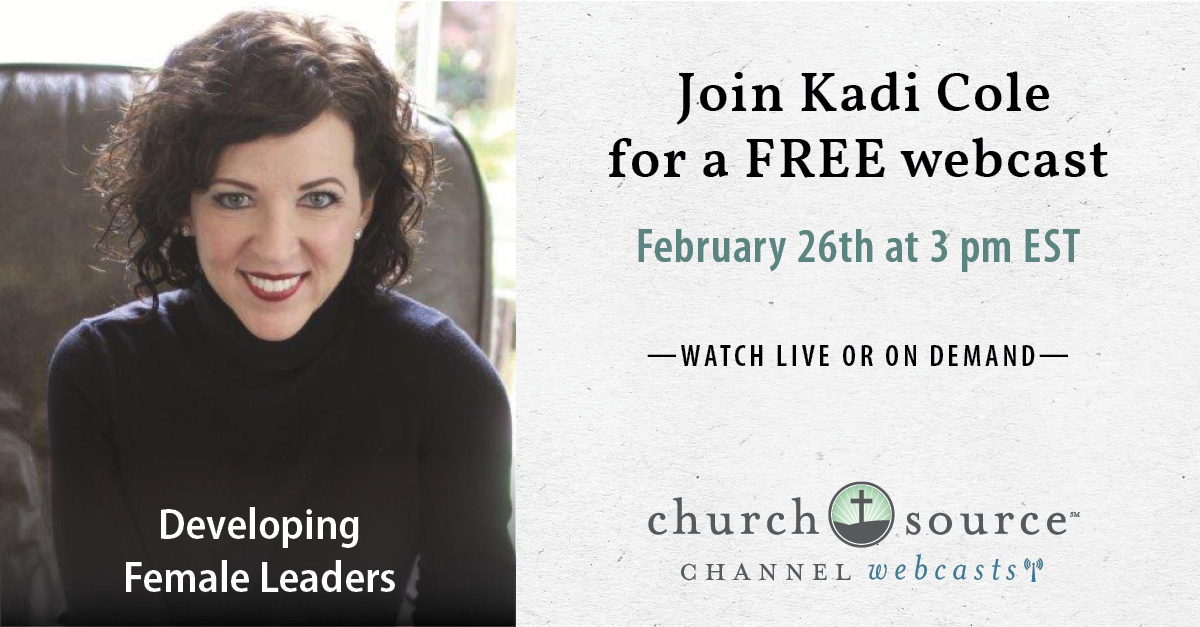 Navigating the minefields of women in church leadership - Webcast with Kadi Cole