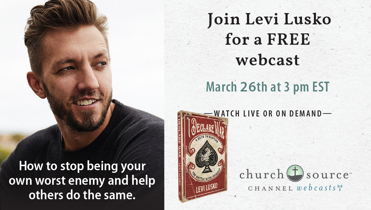 How to stop being your own worst enemy and help others do the same - Webcast with Levi Lusko