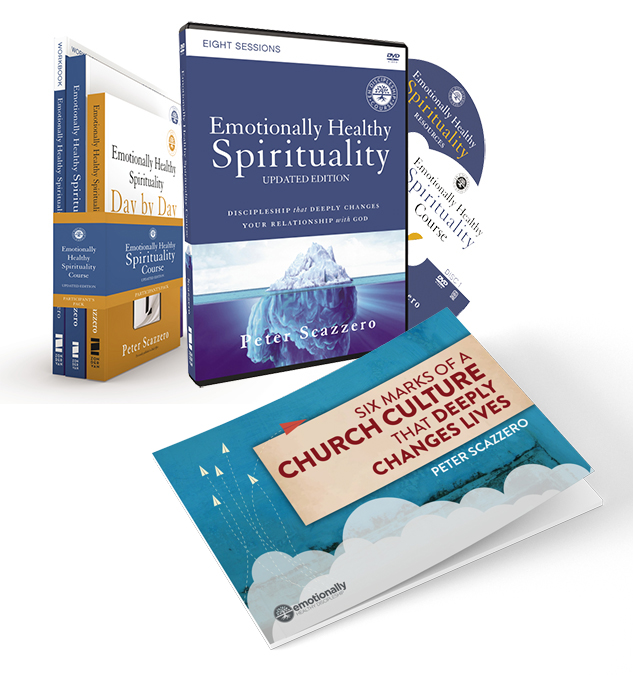 Emotionally Healthy Spirituality by Pete Scazzero