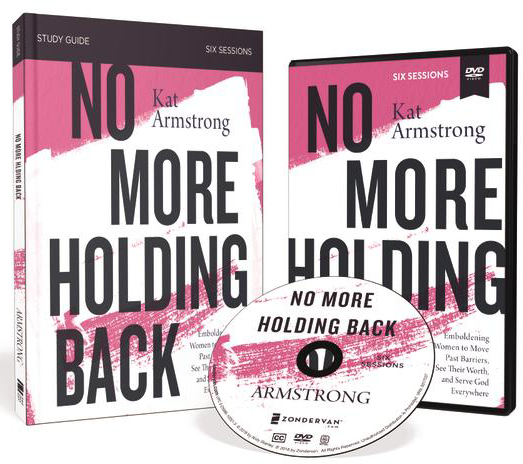 No More Holding Back DVD and Study Guide Pack by Kat Armstrong