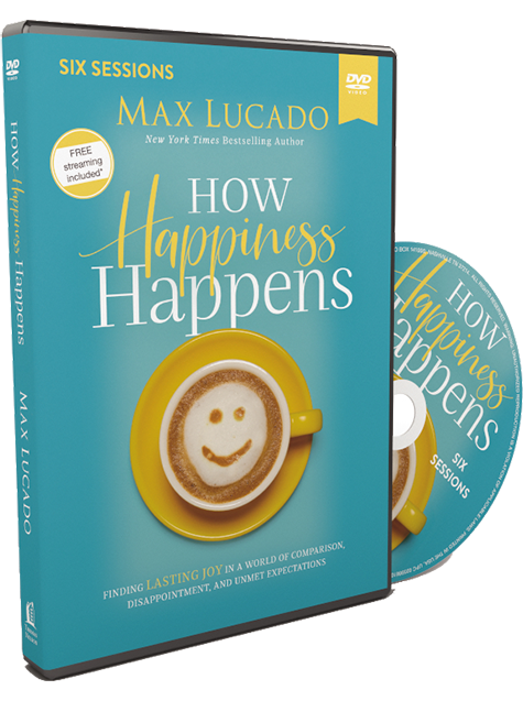 How Happiness Happens Video Study DVD by Max Lucado