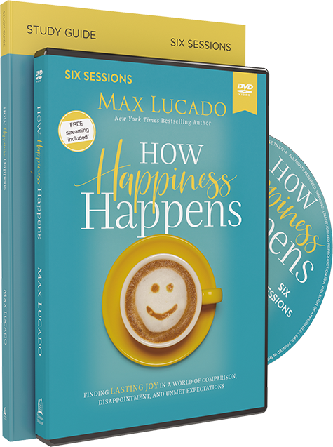 How Happiness Happens DVD and Study Guide Pack by Max Lucado