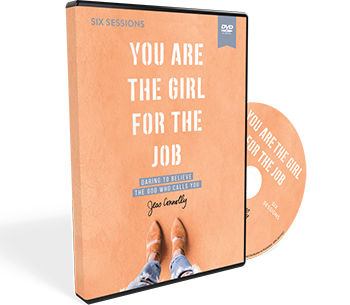You Are the Girl for the Job Video Study DVD by Jess Connolly