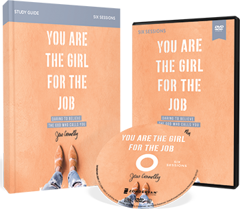 You Are the Girl for the Job DVD and Study Guide Pack by Jess Connolly
