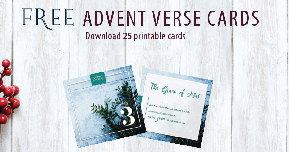 graphic relating to Verse Mapping Printable identified as Cost-free Introduction Verse Playing cards - Down load 12 Printable Playing cards