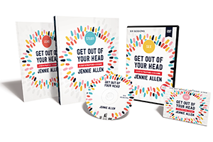 Get Out of Your Head Curriculum Kit by Jennie Allen