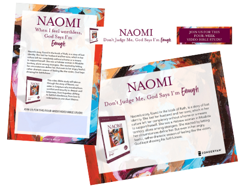 Known by Name: Naomi Additional Resources