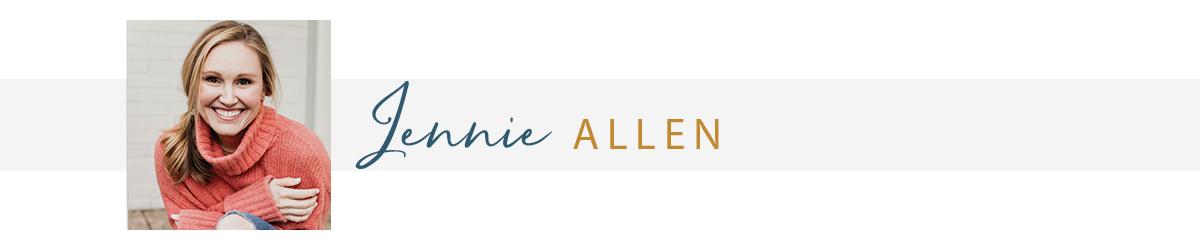 Author Jennie Allen