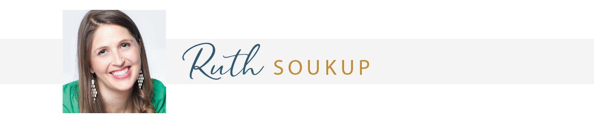 Author Ruth Soukup