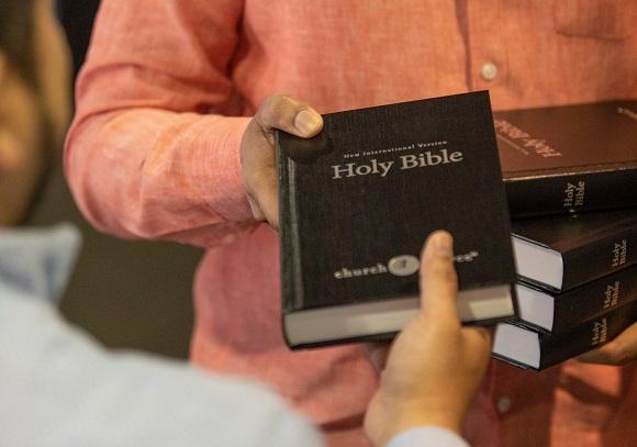 Pew Bible Custom