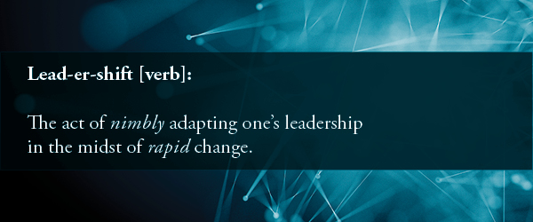 Learn to Embrace Essential Change