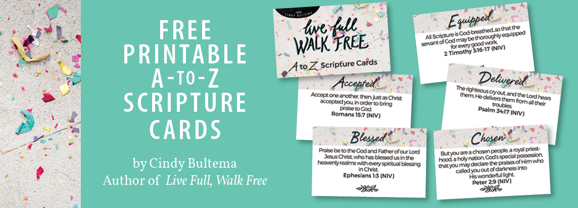 Free Scripture Cards